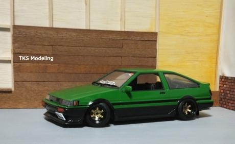 AE86レビン緑2 (23)