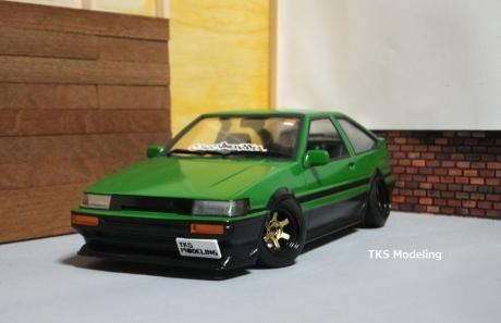 AE86レビン緑2 (25)