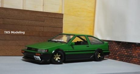 AE86レビン緑2 (24)