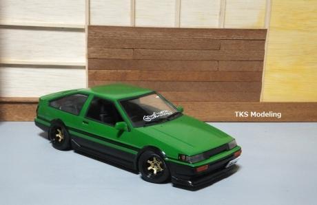 AE86レビン緑2 (31)