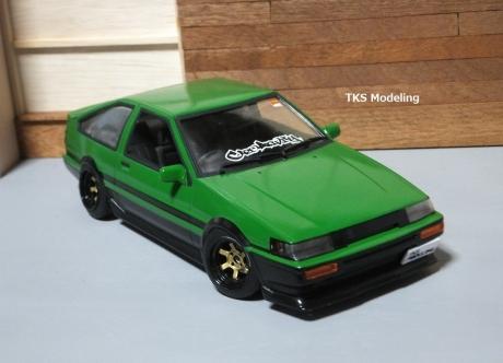 AE86レビン緑2 (29)
