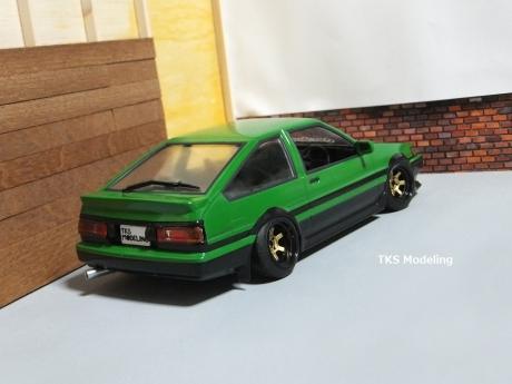 AE86レビン緑2 (37)