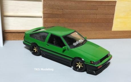 AE86レビン緑2 (33)