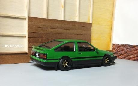 AE86レビン緑2 (39)