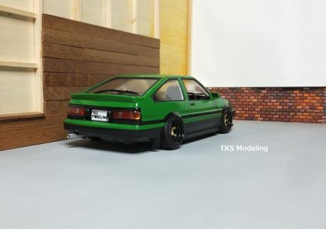 AE86レビン緑2 (40)