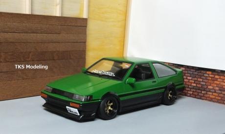AE86レビン緑2 (46)