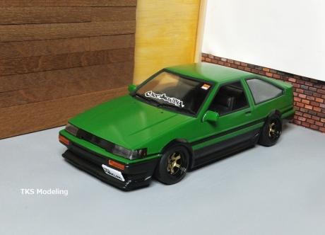 AE86レビン緑2 (47)