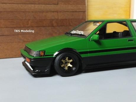 AE86レビン緑2 (49)