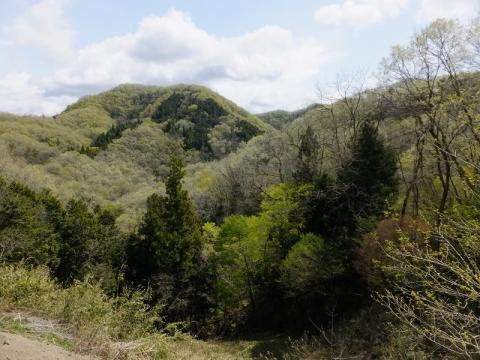 牧野地区馬本の風景