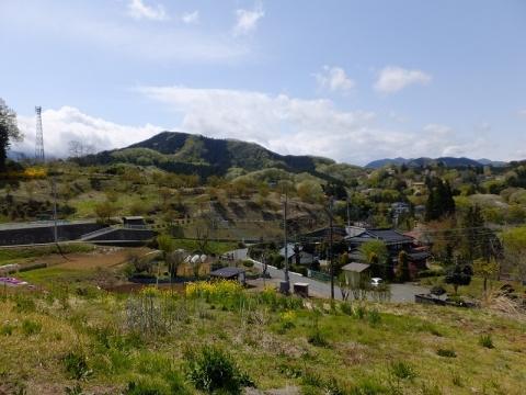 仲尾生活改善センターからの牧野地区の眺め