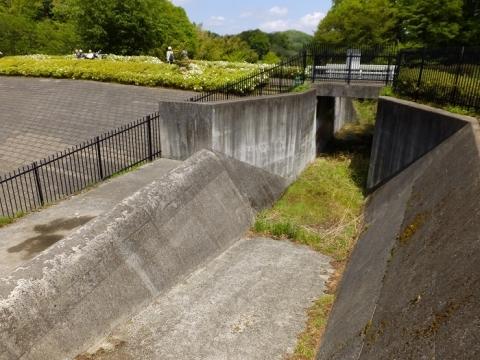 あつぎつつじの丘公園遊水池・洪水吐