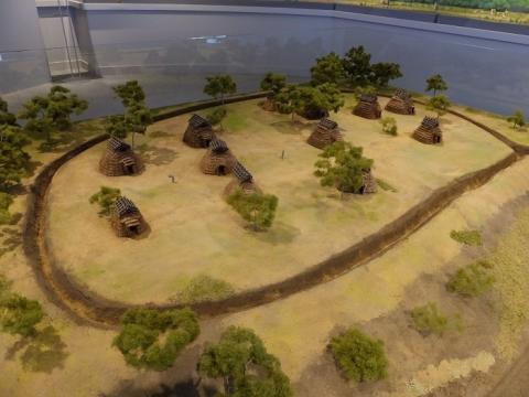 神崎遺跡立体模型