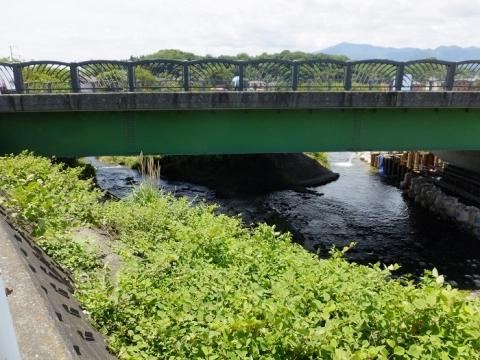 小鮎川に合流する用水路・平成橋下