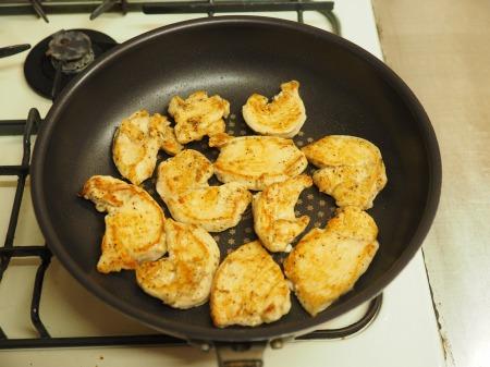 鶏むね肉のレモンステーキ027