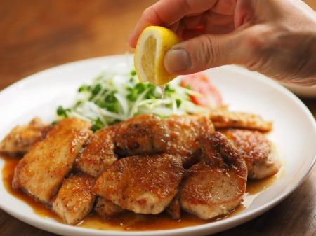 鶏むね肉のレモンステーキ039