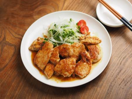 鶏むね肉のレモンステーキ049