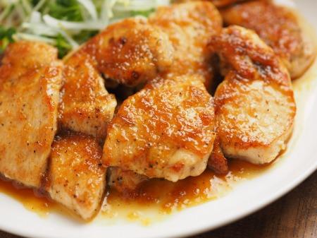 鶏むね肉のレモンステーキ058