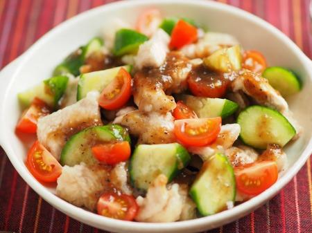 鶏むね肉のサラダ風玉ねぎソ016