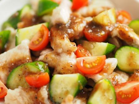 鶏むね肉のサラダ風玉ねぎソ022
