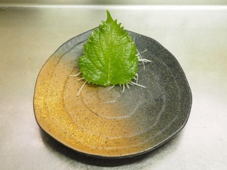 ホタテの刺身、焼き霜刺身069