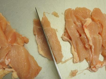 鶏むね肉のねぎ塩焼き035