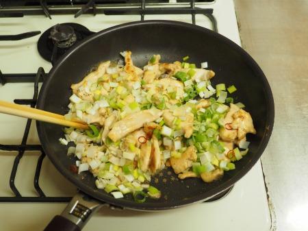 鶏むね肉のねぎ塩焼き047