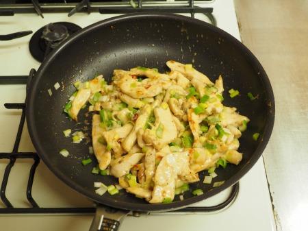 鶏むね肉のねぎ塩焼き048