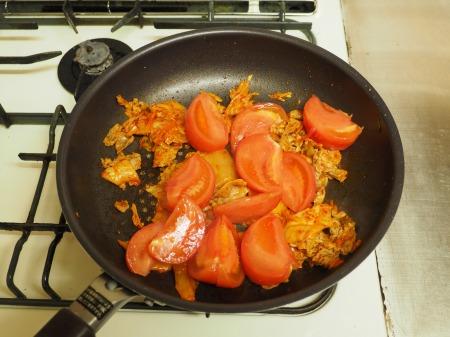 トマトキムチ炒め052