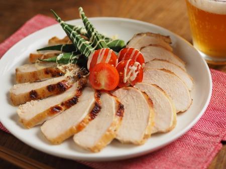 鶏むね肉のにんにくヨーグルトき015