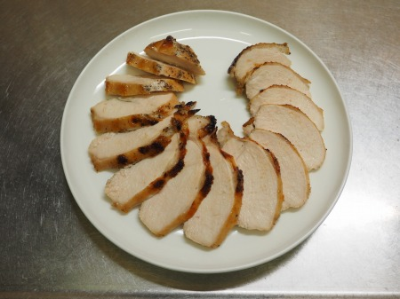鶏むね肉のにんにくヨーグルトき042