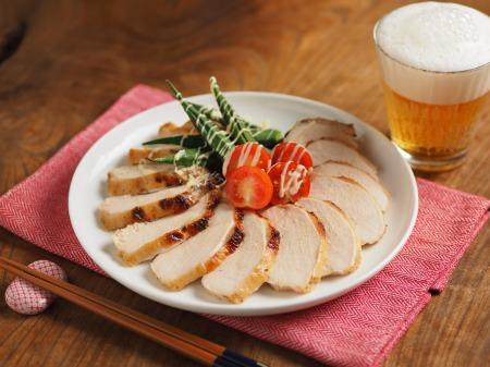 鶏むね肉のにんにくヨーグルトき007