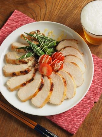 鶏むね肉のにんにくヨーグルトき020