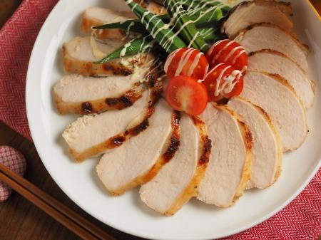 鶏むね肉のにんにくヨーグルトき012