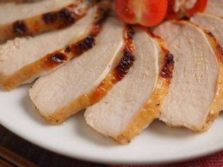 鶏むね肉のにんにくヨーグルトき006