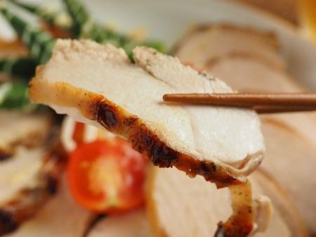 鶏むね肉のにんにくヨーグルトき024