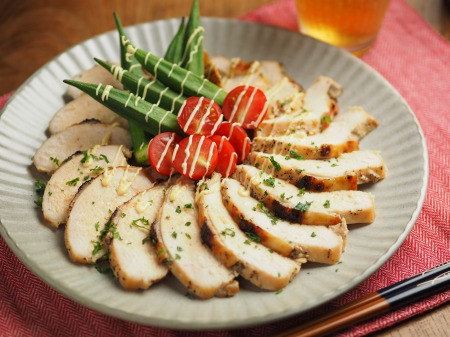 鶏むね肉のはちみつヨーグルト057