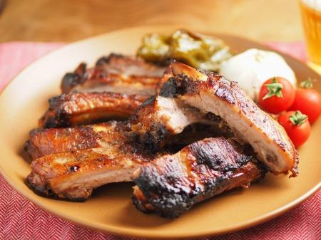 豚バックリブのオーブン焼き016