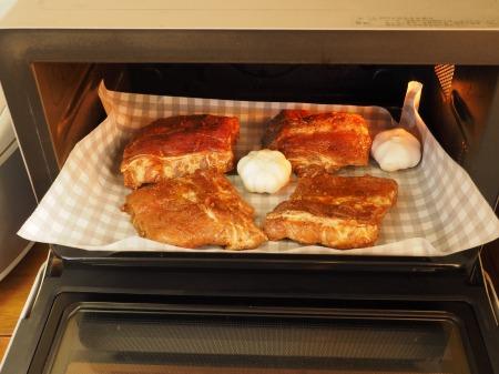 豚バックリブのオーブン焼き063