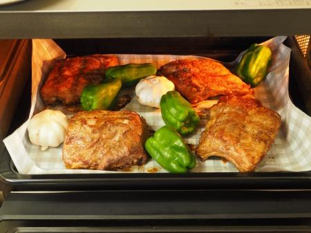 豚バックリブのオーブン焼き069