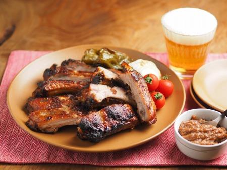 豚バックリブのオーブン焼き007