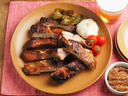 豚バックリブのオーブン焼き023