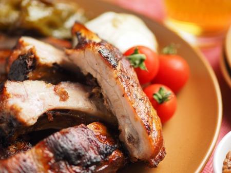 豚バックリブのオーブン焼き011