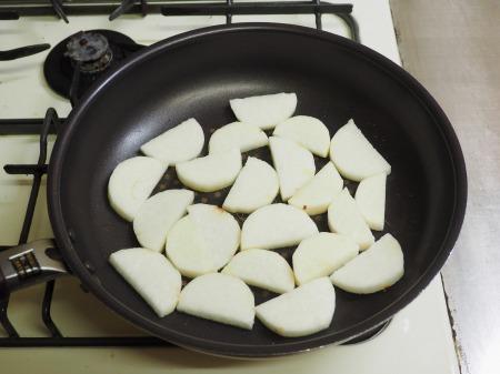 長芋の明太キムチ炒め035
