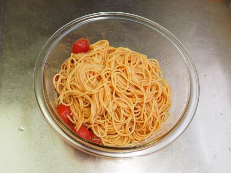 トマトと辛子明太子の冷製パ059