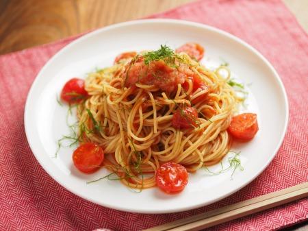 トマトと辛子明太子の冷製パ020