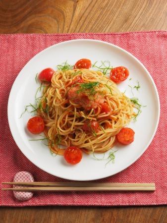 トマトと辛子明太子の冷製パ011