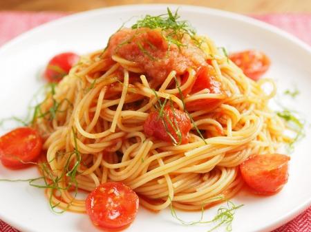 トマトと辛子明太子の冷製パ013