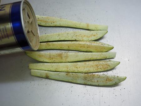 塩さばと茄子のガーリックオイル053