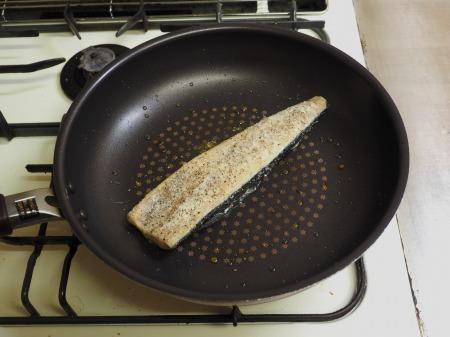 塩さばのガーリックチーズ焼き041