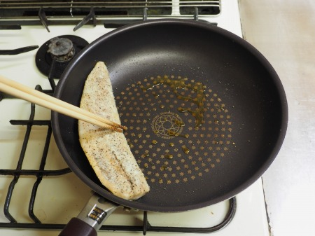 塩さばのガーリックチーズ焼き042